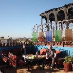 La terraza del desayuno