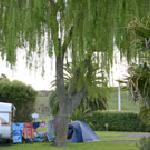 Plenty of camping sites for tents and caravans