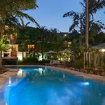 Offshore Noosa Pool by Night