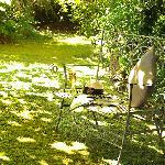 Relax in Clarendon's garden