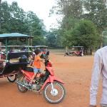 Mr. Phann, our tuk tuk driver