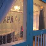 Back Porch's Private Hot Tub Cabana