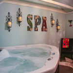 Back Porch Suite's Spa Room