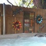 Ella's Haus Private Hot Tub Courtyard