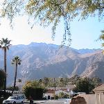 View at San Jacinto in front