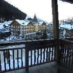 panorama dalla stanza j.suite Plaza