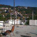 Hotel terrace