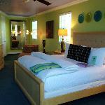 Bedroom in Spa Villa