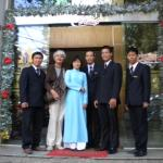 Mom and the Staff!