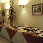 29--Corrientes-Hotel Guaraní: Desayuno