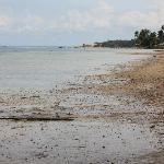 very  quite beach