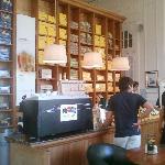 5-Corrientes-Havanna Café: Mostrador