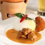 Rotes Pouletcurry | red chicken curry