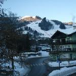 View from my room - Hahnenkamm downhill
