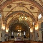 navata centrale e altare maggiore