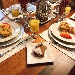 Wonderful gourmet breakfasts!