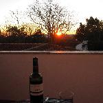 Beautiful Sunset from balcony