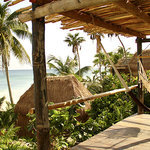 View from Ocean front Cabana -
