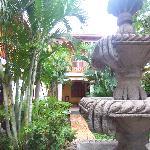 Hotel Cocibolca Courtyard