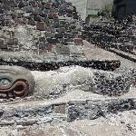 Templo Mayor: serpent in situ