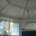 Inside the blue house