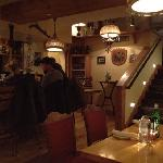 First floor bar & cafe area.