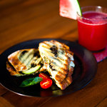 hot chicken panini