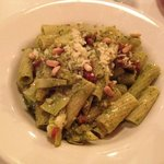 Rigatoni with Pesto...so good! (half portion size)