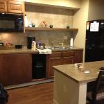 kitchen area king suite