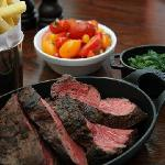 Steak and Sides