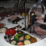 le dîner indien