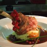 Quincy's lamb dish