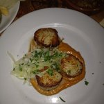 Wonderfully delicious dry scallops