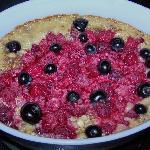 Berry oatneal bake