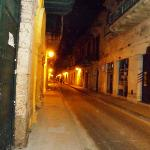 Calle de Chicheria at Night