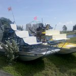 Small private tour airboats