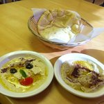 hummus & baba at m.e.r.