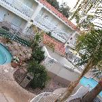 Pool & Jacuzzi outside area