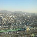 Southern Seoul viewed from 63 Building.