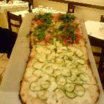 La nostra pizza al metro