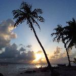 Sunset Looking Toward the Mainland
