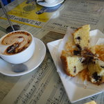 Great coffee and delicious muffins!