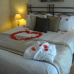 Suite - they took extra care when decorating for our honeymoon