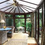 Ground Floor bedroom's Conservatory