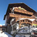 front of chalet hotel