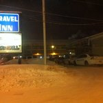 police at the travel inn 1/28/12
