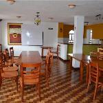 Breakfast/bar area