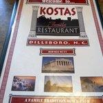 Kostas Family Restaurant