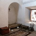 A room in the monastery.