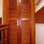 Interior- Polished word door & floor